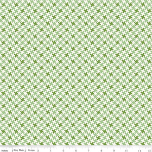 Green Houndstooth Fabric from Farm Girl Vintage Collection at Cherry Creek Fabric