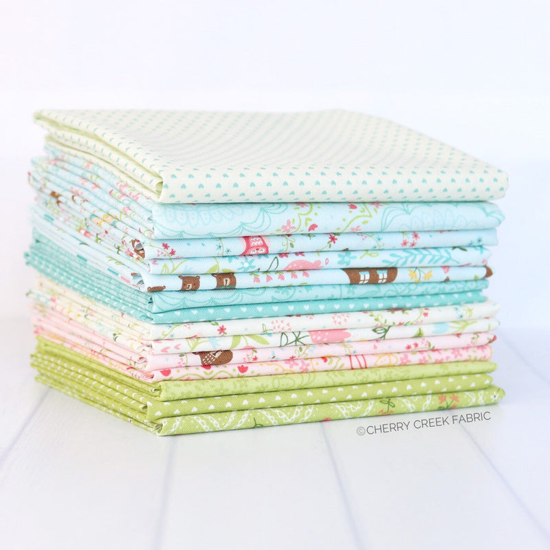 Home Sweet Home Mini Fat Quarter Bundle from Home Sweet Home Collection at Cherry Creek Fabric