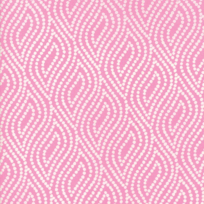 Pink Dotted Floral Fabric