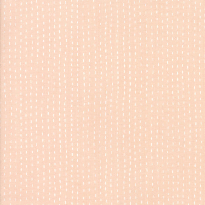 Peach Strings Fabric