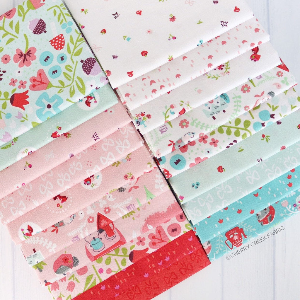 Little Red in the Woods Mini Fat Quarter Bundle