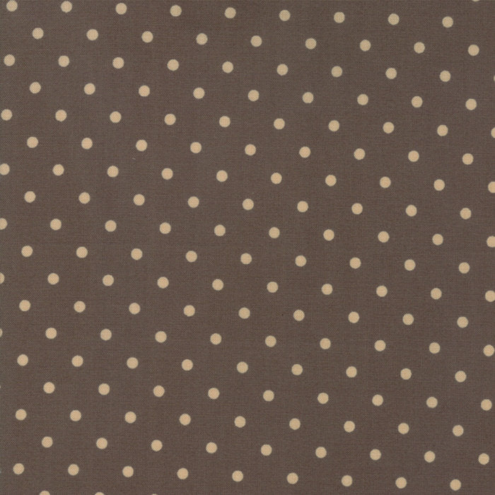 Brown Dots Fabric