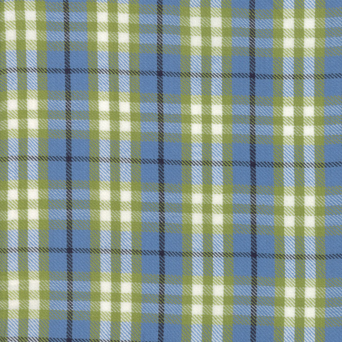 Chambray Plaid Woven Fabric