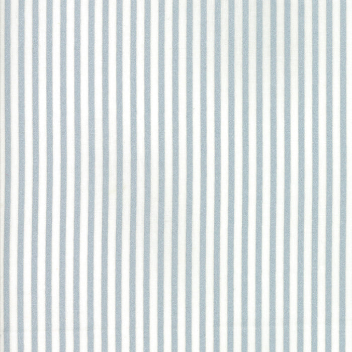 Metallic Silver Candy Stripe Fabric