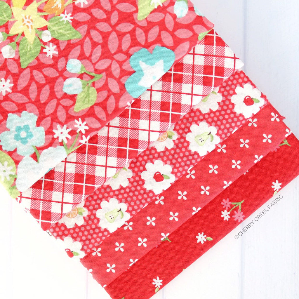 Orchard Red One Yard Bundle