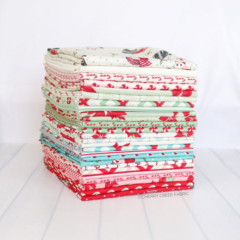 Sweet Christmas Half Yard Bundle - 26 pieces