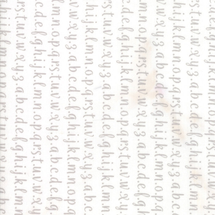 Strawberry Jam Fabric - Grey Alphabet Fabric - Corey Yoder - Moda Fabric - Text Fabric - Wording Fabric - Fabric by the Yard from Cherry Creek Fabric & Crafts Collection at Cherry Creek Fabric