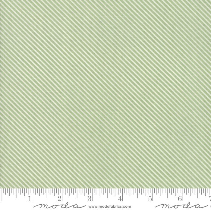 Green Candy Stripes Fabric from Garden Variety Collection at Cherry Creek Fabric
