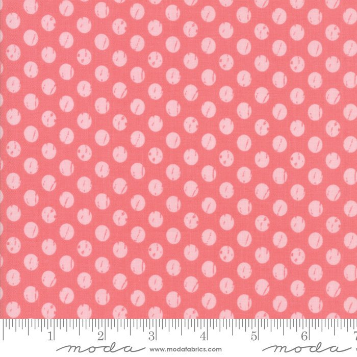 Dark Pink Dots Fabric