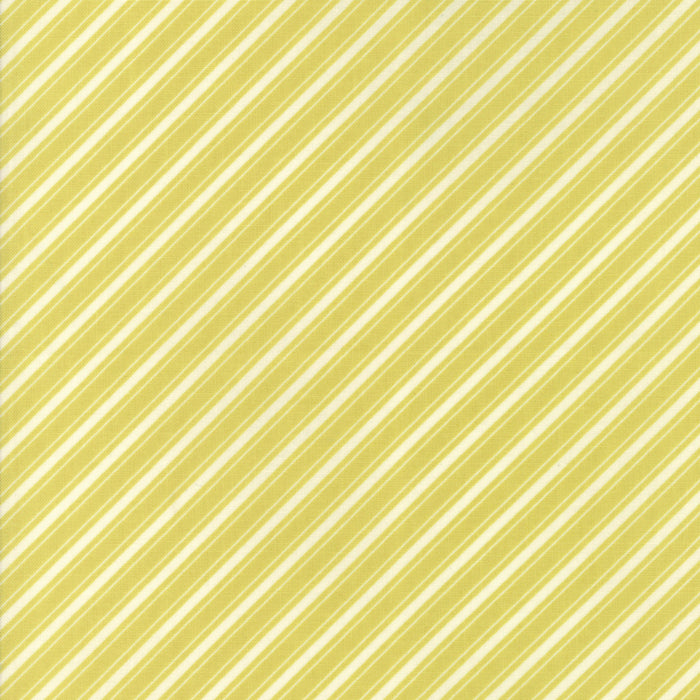Light Green Ticking Stripe Fabric