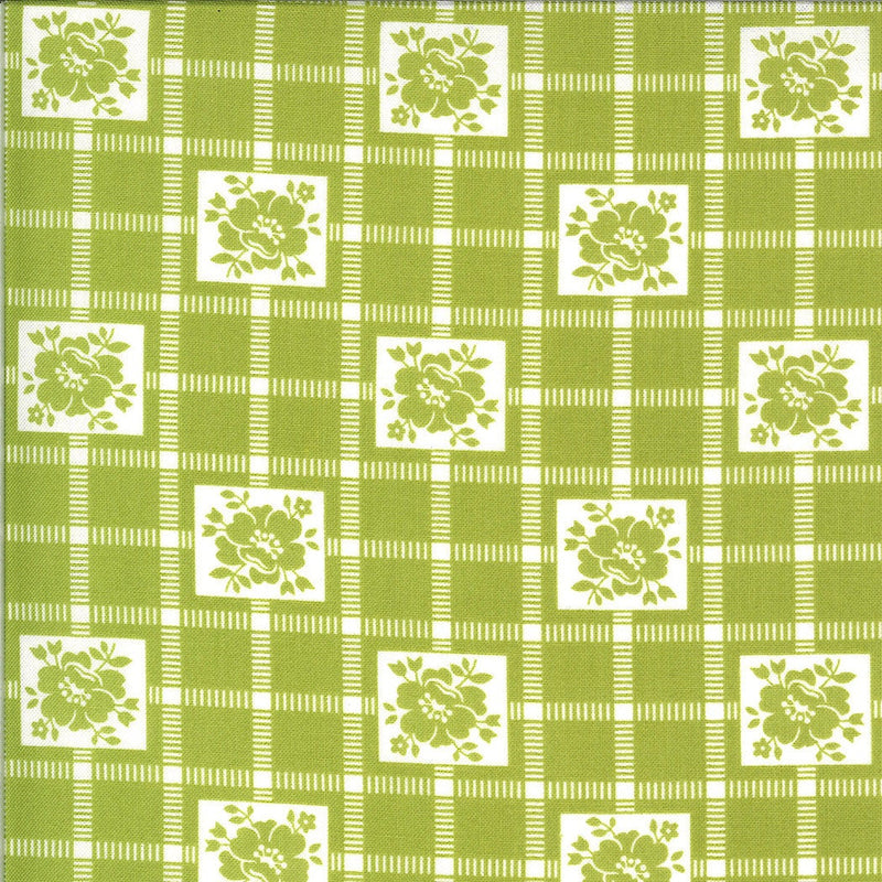 Green Check Fabric | Shine On