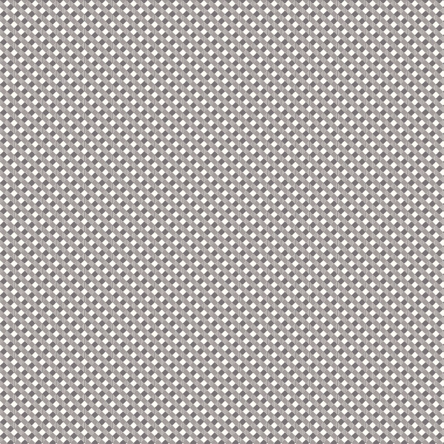 Gray Gingham Fabric