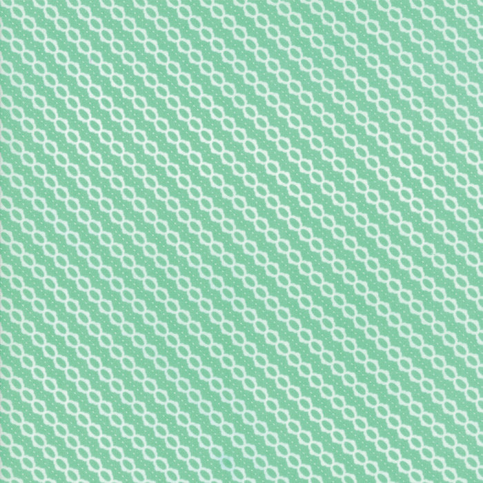 Strawberry Jam Fabric - Turquoise Summer Stripe Fabric - Corey Yoder - Moda Fabric - Stripe Fabric - Binding Fabric - Fabric by the Yard from Cherry Creek Fabric & Crafts Collection at Cherry Creek Fabric