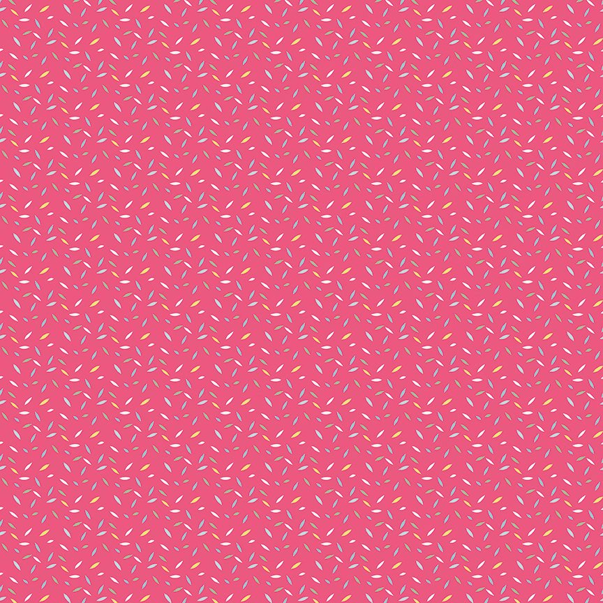 Serendipity by Minki Kim | Pink Sprinkles Fabric from Serendipity Collection at Cherry Creek Fabric