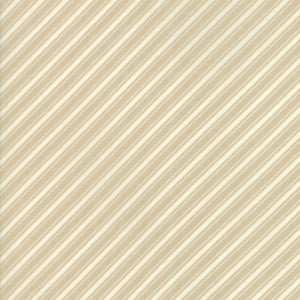 Tan Ticking Stripe Fabric</br>END OF BOLT </br>1 yds + 20""
