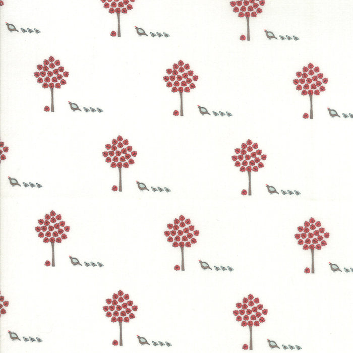 Cream Maple Trees Fabric from 101 Maple Hill Collection at Cherry Creek Fabric