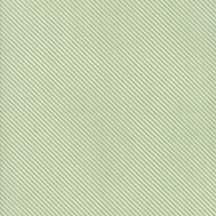 Green Candy Stripes Fabric