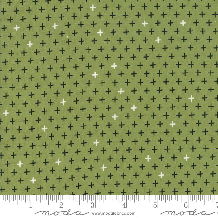Merry Starts Here by Sweetwater | Green Twinkle Star Fabric