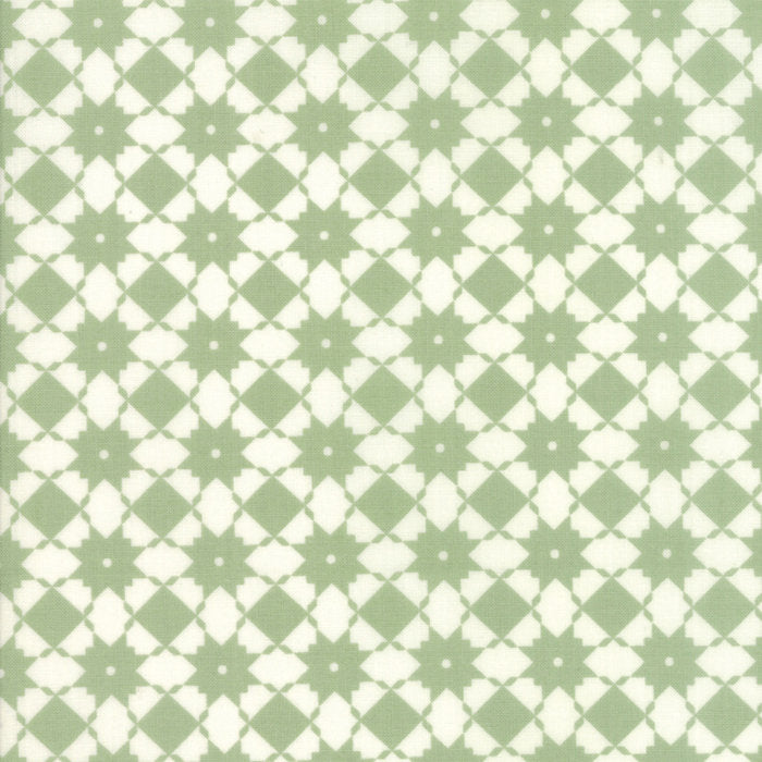 Green Weave Fabric