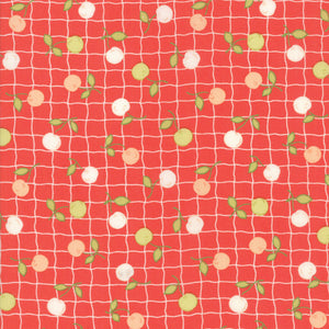 Red Apple Picnic Fabric from Farmhouse II Collection at Cherry Creek Fabric