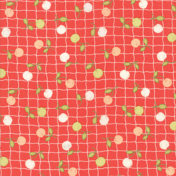 Red Apple Picnic Fabric