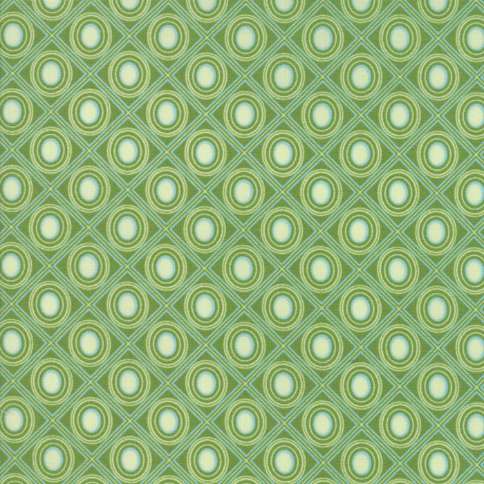 Green Diamonds Fabric from Coledale Collection at Cherry Creek Fabric