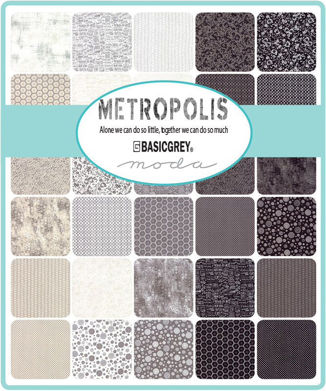 Natural Half Square Fabric from Metropolis Collection at Cherry Creek Fabric