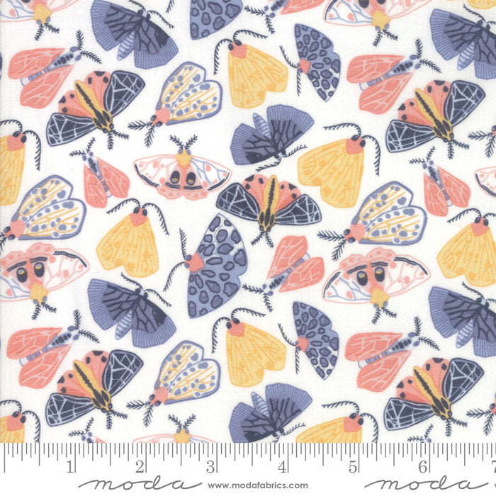 "Cloud Moths FabricEND OF BOLT 2 yds + 22"" from Twilight Collection at Cherry Creek Fabric"