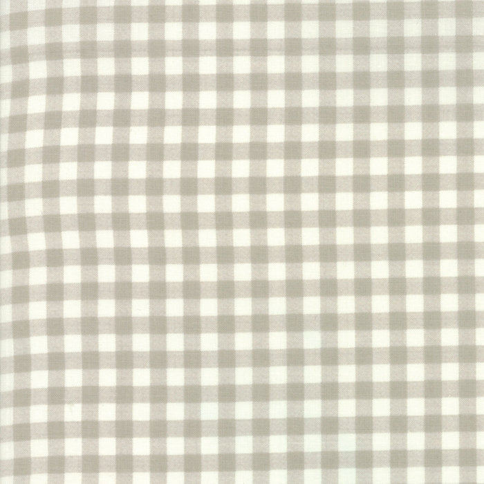 Tan Plaid Fabric