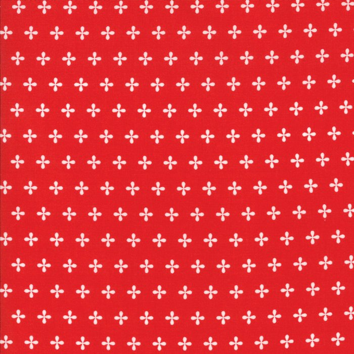 Red Apple Seed Fabric