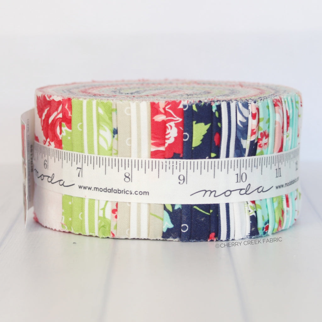 Smitten Jelly Roll from Smitten Collection at Cherry Creek Fabric