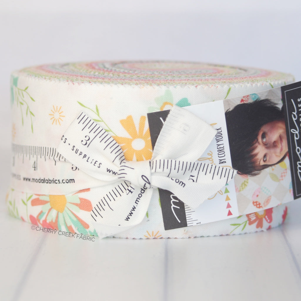 Sunnyside Up Jelly Roll from Sunnyside Up Collection at Cherry Creek Fabric