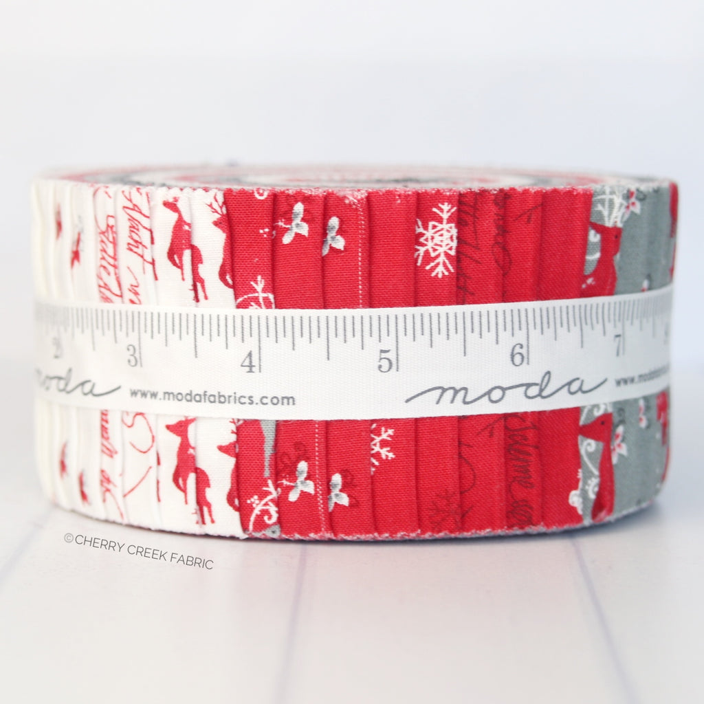 Sno Jelly Roll from Sno Collection at Cherry Creek Fabric