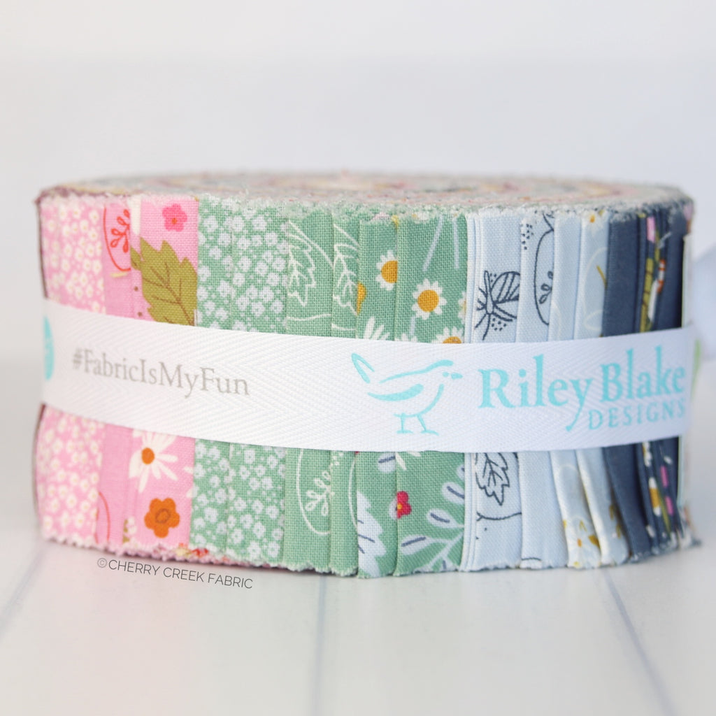 Wild Bouquet Jelly Roll from Wild Bouquet Collection at Cherry Creek Fabric