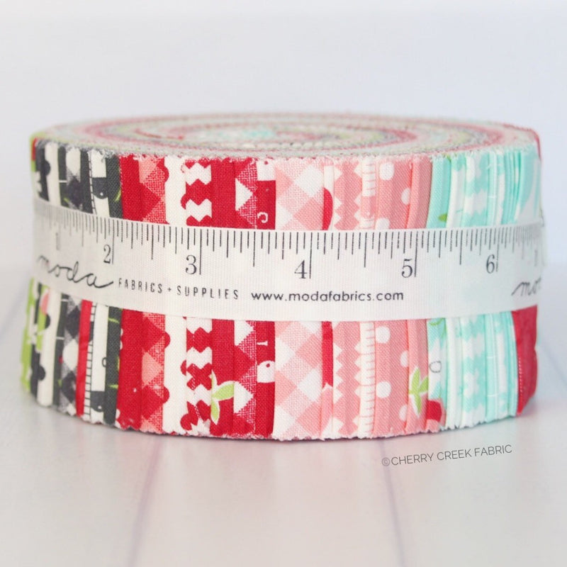 Little Snippets Jelly Roll from Little Snippets Collection at Cherry Creek Fabric