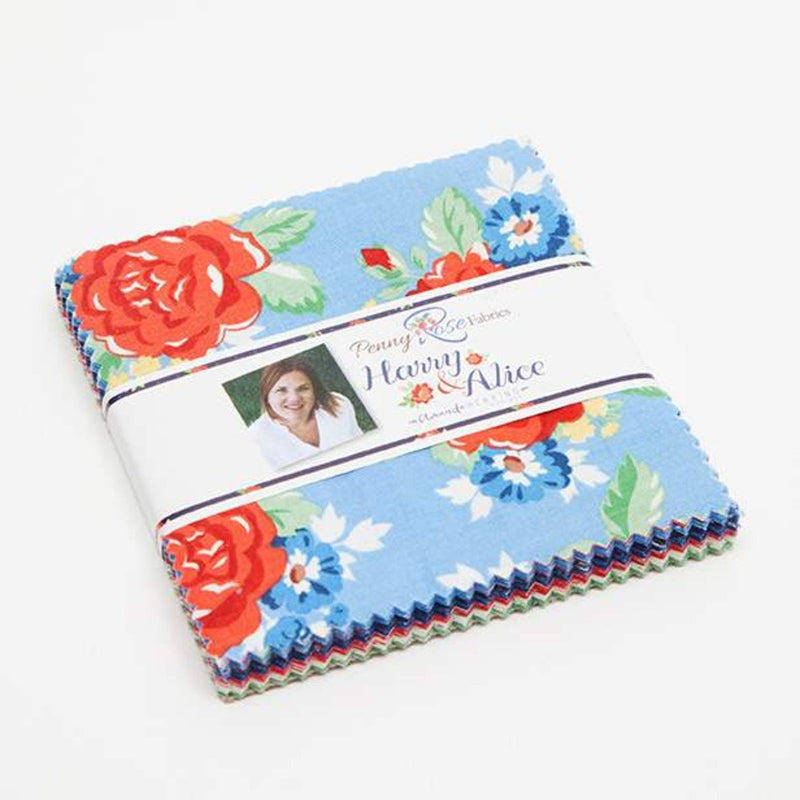Harry & Alice Charm Pack from Harry & Alice Collection at Cherry Creek Fabric