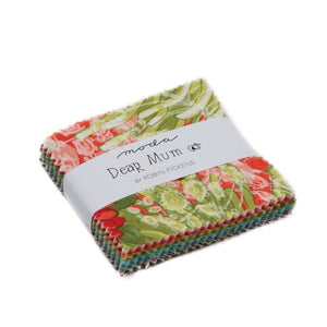 Dear Mum Mini Charm Pack from Dear Mum Collection at Cherry Creek Fabric