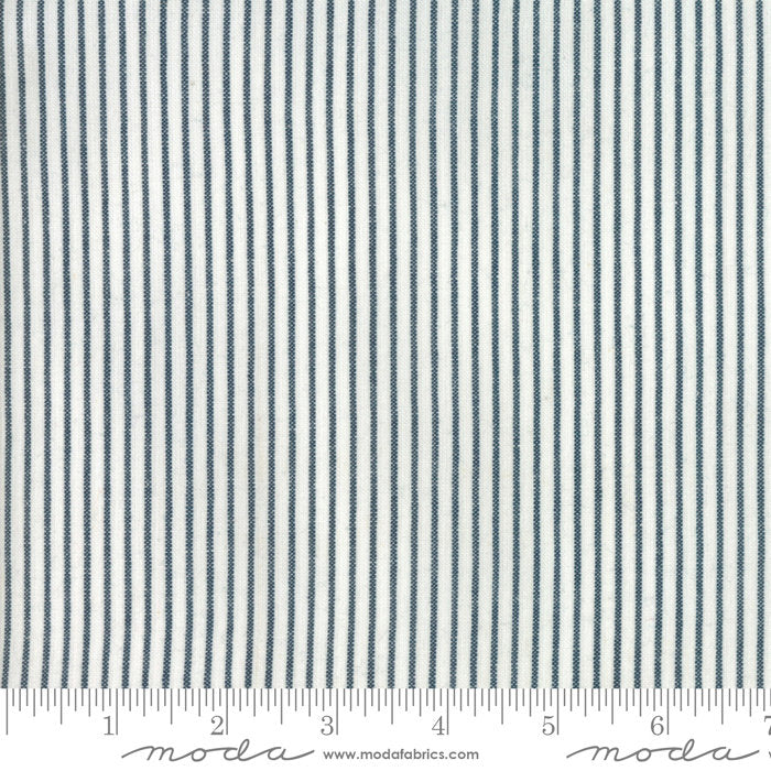 Denim Stripe Woven Fabric from Oxford Collection at Cherry Creek Fabric