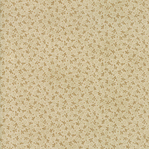 Tan Turkey Tracks Fabric from Ella & Ollie Collection at Cherry Creek Fabric
