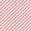 Red Aqua Candy Stripe Flannel Fabric from Vintage Holiday Flannel Collection at Cherry Creek Fabric