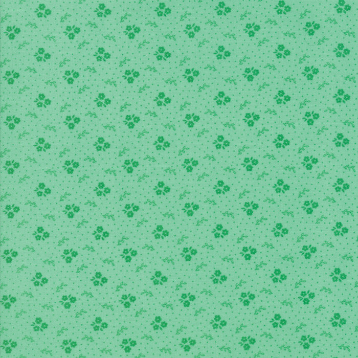 Green Trio Blooms Fabric from Guest Room Collection at Cherry Creek Fabric