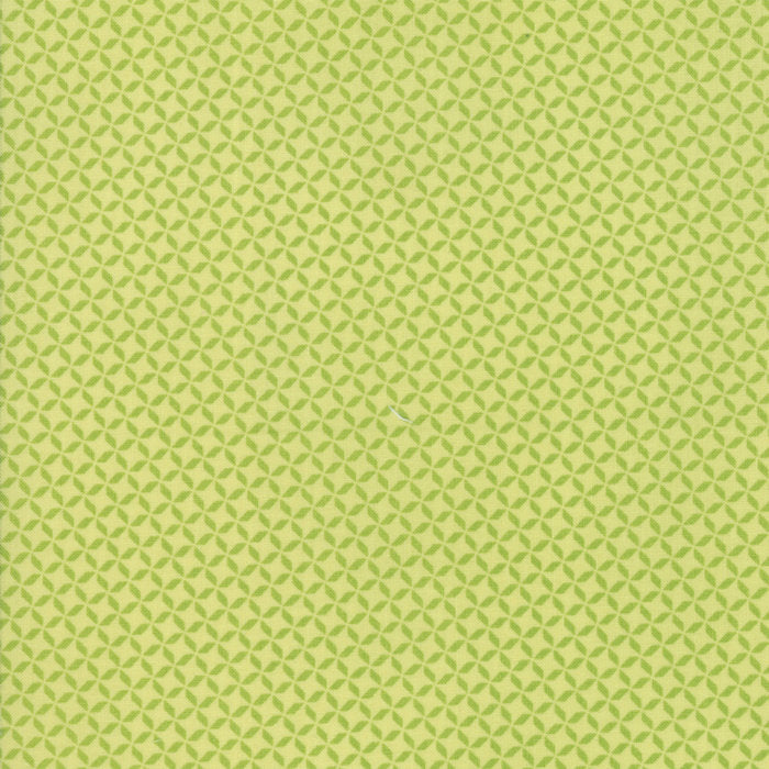 Green Geometric Fabric from Sunnyside Up Collection at Cherry Creek Fabric
