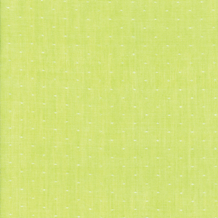 Bonnie & Camille Wovens | Green Dot Woven Fabric