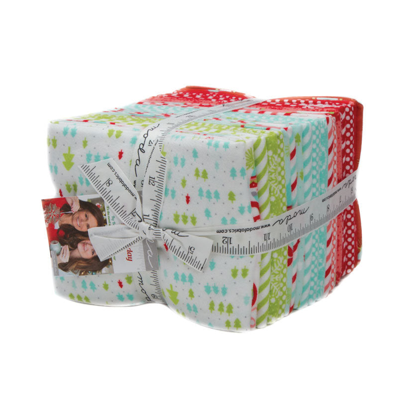 Vintage Holiday Flannel Fat Quarter Bundle