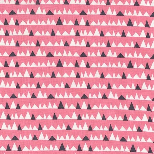 Everglades by Betsy Siber | Pink Bad Teeth Fabric
