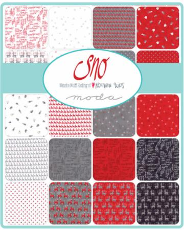 Sno Charm Pack - Northern Quilts - 42 pieces