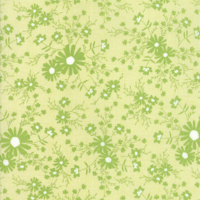 Green Floral Meadow Fabric from Sunnyside Up Collection at Cherry Creek Fabric