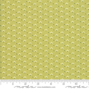 Green Dandelion Fabric