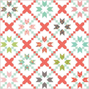 Cross Stitch Quilt Pattern from Corey Yoder Collection at Cherry Creek Fabric