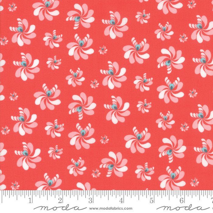 Coral Native Seeds Fabric from Coledale Collection at Cherry Creek Fabric